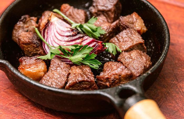 Dadinho de Carne de Sol - Gastronomia Cearense
