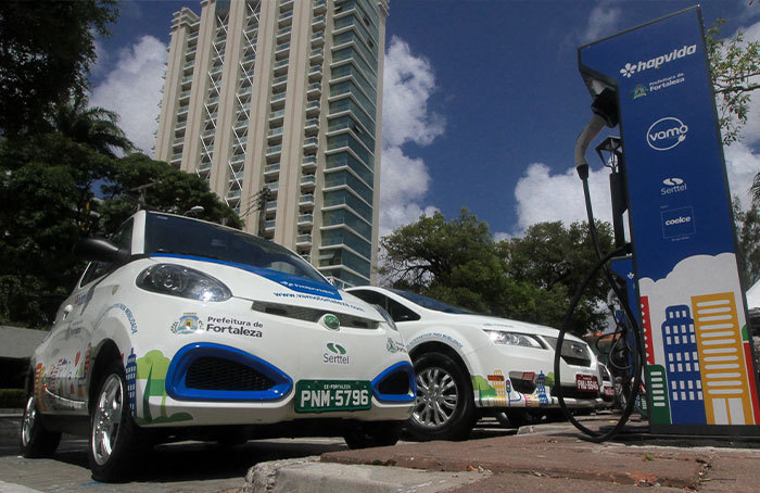 prefeitura de fortela e hapvida investem em carros elétricos