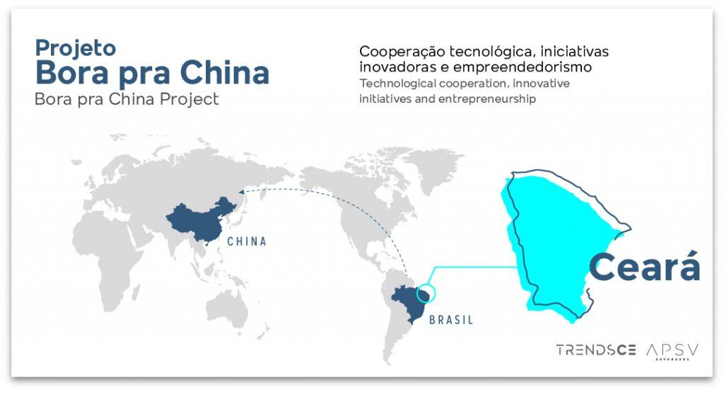 projeto bora para china